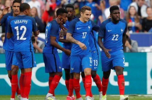 Article : Coupe du Monde 2018 : Noirs ou pas, l'équipe de France est Française
